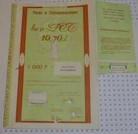 Postes Et Telecommunications - Industrie