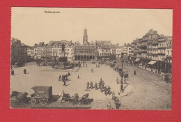 Bruxelles  --  Rathausplatz - Places, Squares