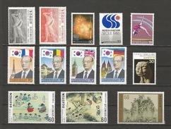 Petit Lot Années Diverses - Corée Du Sud