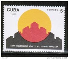 CU 1988 MI 3217 ** - Kuba