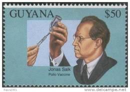 Dr Jonas Salk Polio Vaccine, Health, Disease, Immunization, Nobel Prize, Disabled / Handicapped, MNH, Guyana - Medizin