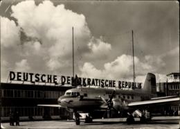 Cp Schönefeld Bei Berlin, Zentralflughafen Der Deutschen Lufthansa, Iljuschin Il 4 - Deutschland