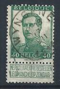 N°121, 40c Vert Càd WYNGENE/17/VII/1914 - 1912 Pellens