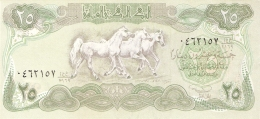 IRAQ   25 Dinars   1990   Sign.23   P. 74a UNC - Iraq