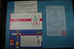 Lot De 10 Buvards  (4) - Collections, Lots & Séries