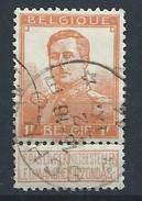 N°116, 1f Orange Relais *SCHILDE*/22/IX/1914 (début De Guerre) - Cachets à étoiles