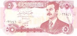 IRAQ   5 Dinars   1992   Sign.24   P. 80c UNC - Iraq