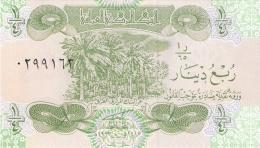 IRAQ   1/4 Dinar   1993   Sign.24   P. 77 UNC - Iraq