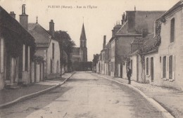 CPA - Pleurs - Rue De L'Eglise - Andere Gemeenten