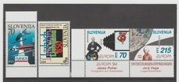 NEU719  SLOWENIEN / SLOVENIJA  1994 MICHL  78/81  Postfrisch SIHE ABBILDUNG - Slowenien