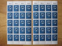 Bund  476 **  2 X 20er- Blöcke Mit Rand , Postfrisch  , Ungefaltet , Gute Erhaltung - BRD