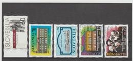 NEU720  SLOWENIEN / SLOVENIJA  1994 MICHL  92/96  Postfrisch SIHE ABBILDUNG - Slowenien