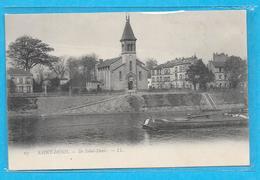 93-Saint Denis-Ile Saint Denis-cpa Non écrite - L'Ile Saint Denis