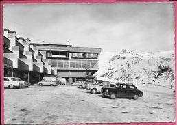 Merlette Orcieres Merlettes Centre Station Ski Avec Véhicules - Orcieres