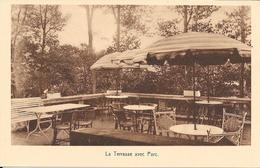 Luxemburg/Luxembourg, Diekirch, Hotel Beau Site, La Terrasse Avec Parc, Ca. 1930 - Diekirch