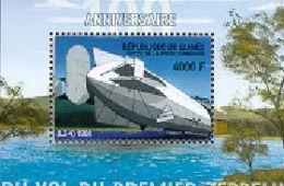 GUINEE   2078  MINT NEVER HINGED SOUVENIR SHEET OF AVIATION - Flugzeuge