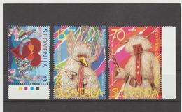 NEU732  SLOWENIEN / SLOVENIJA  1996 MICHL  128/30  Postfrisch SIHE ABBILDUNG - Slowenien
