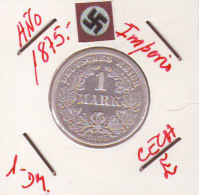 ALEMANIA - IMPERIO - DEUTSCHES REICH - 1- DM. AÑO 1875-E - 1 Mark