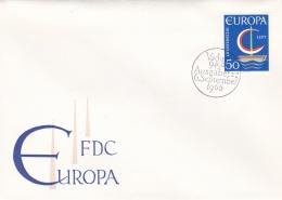 Liechtenstein 1966 FDC Europa CEPT (LAR3-B11) - Europa-CEPT
