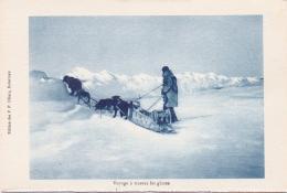 ALTE AK  KANADA / USA  -  Voyage A Travers Les Glaces -  Ca. 1920 Gedruckt - Nordwestgebiete