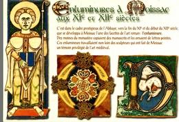 CPM Enluminures à Moissac Aux XI Et XII°siècles - Moissac