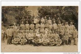 WW1 RAMBERVILLERS - HOPITAL 1917 - SOUVENIR DES DAMES ANGLAISES - OEUVRES DE LA GOUTTE DE CAFE WW1 - SUPERBE CARTE PHOTO - Rambervillers