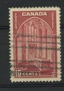 CANADA - SERIE COURANTE - N° Yvert 197 Obli - 1937-1952 Reign Of George VI