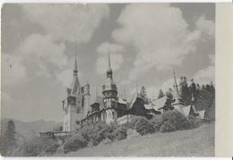 ROMANIA - SINAIA MUZEUL PELES - B/N ANNI '50 - NUOVA NV - Romania