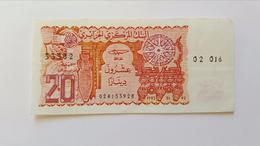 ALGERIA 20 DINARI 1983 - Algeria