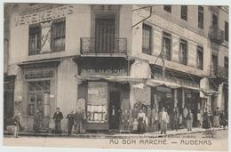 AUBENAS (07) - DEVANTURE DE MAGASIN - AU BON MARCHE - Aubenas