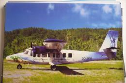 TWIN OTTER   AIR FIJI   DQ-AFM  KANDAVU AIRPORT - 1946-....: Ere Moderne