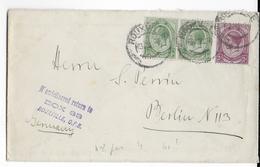 SOUTH AFRICA - 1924 - ENVELOPPE De ROUXVILLE => BERLIN - Briefe U. Dokumente