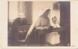 Religion        156       Salon 1906.Dans La Petite église ( J.Desprez Bourdon ) - Tableaux, Vitraux Et Statues