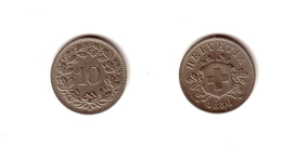 Suisse  :   10  Rappen   1850    BB. - Switzerland