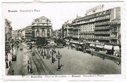 Brussel, Bruxelles, Place De Brouckère (pk32716) - Places, Squares