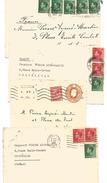 GB LOT DE DEVANTS DE LETTRES POUR LA FRANCE - Lots & Kiloware (mixtures) - Max. 999 Stamps