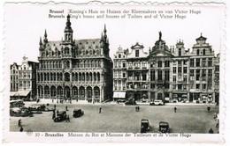 Brussel, Bruxelles,Maison Du Roi Et Maisons Des Tailleurs Et De Victor Hugo (pk32721) - Marchés