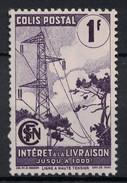 France - Timbre Pour Colis Postaux YT N° 220A 1f Neuf ** TB (SANS CHARNIERE) - Colis Postaux