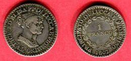 §LUCCA Y PIOMBINO 1 FRANC  ( KM 23 ) TTB 125 - Regional Coins
