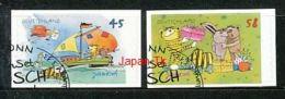 GERMANY  Mi.Nr. 2995-2996 Janosch-Zeichnungen - ET Stempel Bonn - Used - Gebraucht