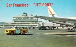 RARE SAN FRANCISCO JET PORT / AEROPORT / AIRPORT - San Francisco