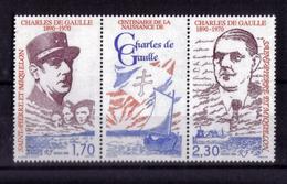 TRIPTYQUE N* 532A  NEUF** - St.Pierre Et Miquelon