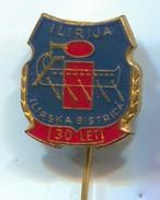 Rowing, Rudern, Canu, Kayak - Club ILIRIJA, Ilirska Bistrica Slovenia, Vintage Pin, Badge, Abzeichen, Enamel - Rowing