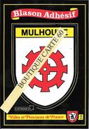 68- MULHOUSE- BLASON -ECUSSON HERALDIQUE - Mulhouse