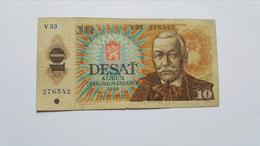 CECOSLOVACCHIA 10 KORUN 1986 - Cecoslovacchia