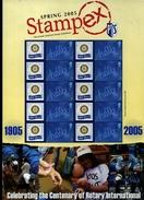 GREAT BRITAIN - 2005  SMILERS SHEET  STAMPEX SPRING - Fogli Completi
