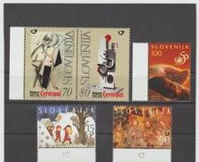 NEU750  SLOWENIEN / SLOVENIJA  1998 MICHL  237/41  Postfrisch SIHE ABBILDUNG - Slowenien