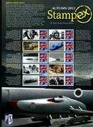 GREAT BRITAIN - 2012 STAMPEX  AUTUMN SMILERS SHEET   PERFECT CONDITION - Fogli Completi