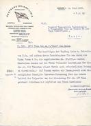 1922 - HAMBURG (Allemagne) - DEUTSCH ORIENT-LINE - Lettre En Allemand Pour LA RUSSIE - - Historische Dokumente