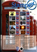 GREAT BRITAIN - 2013 STAMPEX  SPRING SMILERS SHEET   PERFECT CONDITION - Fogli Completi